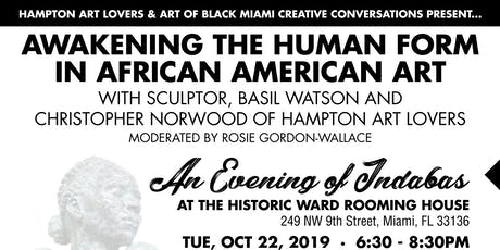 Awakening the Human Form in African American Art with Sculptor Basil Watson tickets