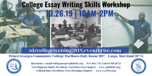 College Essay Writing Skills Workshop