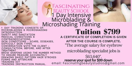 Microblading Training and Certification