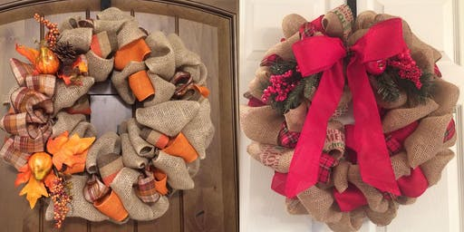 Fall/Winter Wreath Party