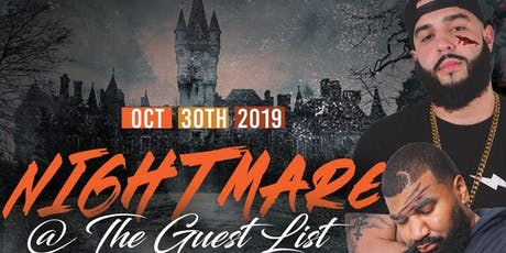Nightmare at Guest List tickets