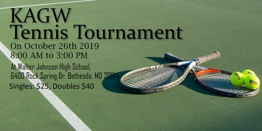 KAGW Tennis Tournament 2019