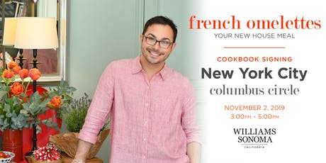 Cookbook Signing with Marc J. Sievers—Williams-Sonoma Columbus Circle tickets