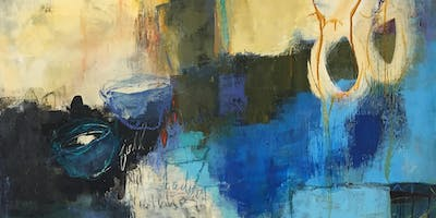 FRI - Advanced Abstract Acrylics with instructor Kate Ashton