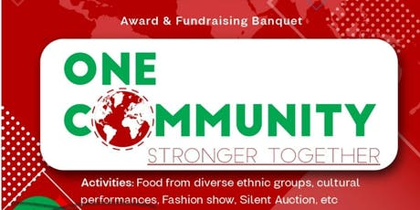 One Communiy Award and Fundraising  Banquet tickets