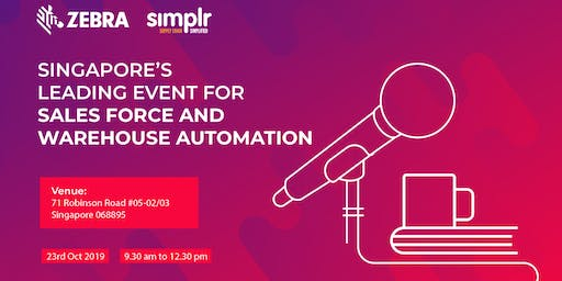 Singapore's Leading Event for Slaesforce and Warehouse Automation