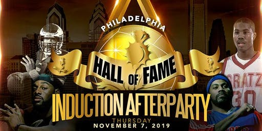 Hall of Fame Induction After Party