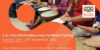 Rhythm2Recovery Facilitator Training | Sydney 23rd - 25th September 2020