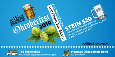 OKTOBERFEST 2019 at All Inn Brewing Co tickets