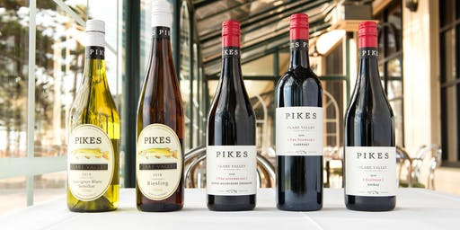 Spring Wine Dinner with Pikes Wines
