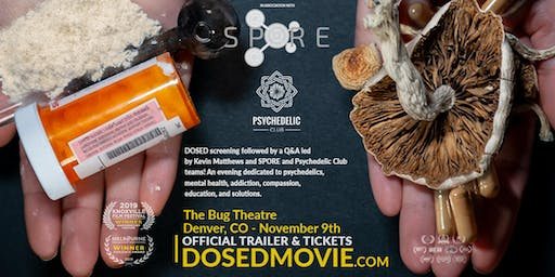 DOSED Documentary + Q&A  - One show only!
