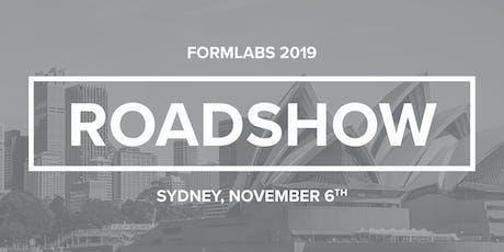 Formlabs Sydney Roadshow 2019 tickets