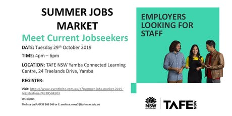 Summer Jobs Market 2019 tickets