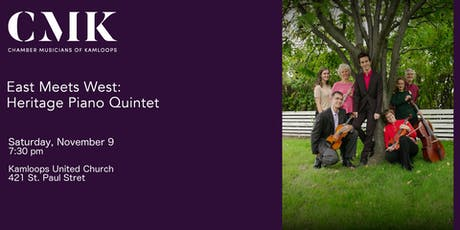 East Meets West: Heritage Piano Quintet tickets