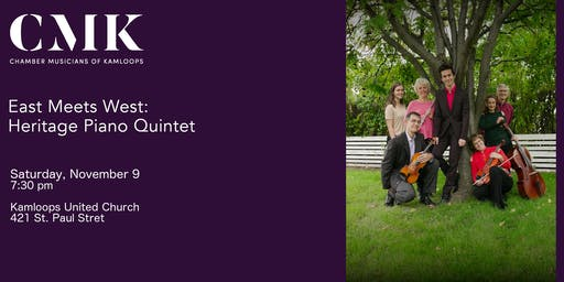 East Meets West: Heritage Piano Quintet