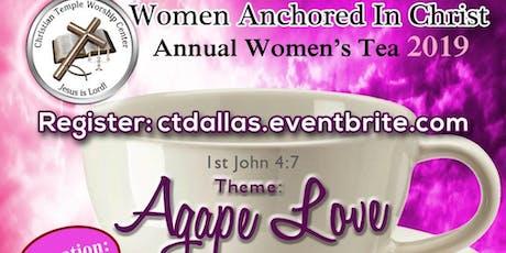 Annual Women's Tea tickets