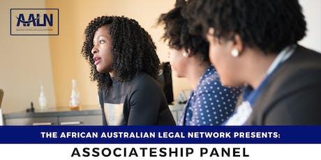 Associateship Panel | African Australian Legal Network tickets