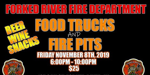 Forked River Fire Department Food Trucks & Fire Pits