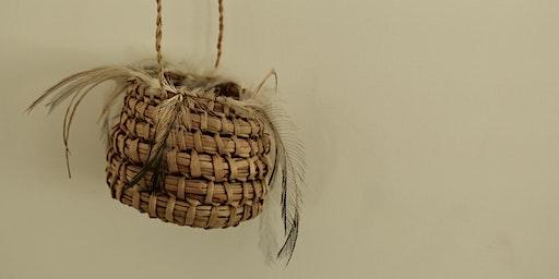 Emu Feather Baskets