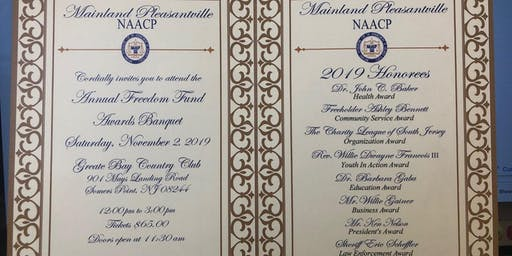 MAINLAND PLEASANTVILLE NAACP-FREEDOM FUND 2019