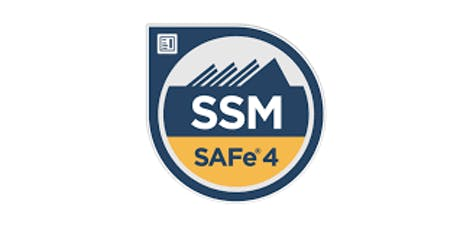 Scaled Agile (SAFe) Scrum Master 4.6 with SSM certification tickets