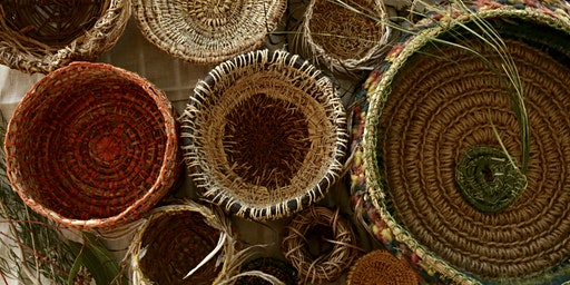 Coil Weaving: Baskets from the Garden