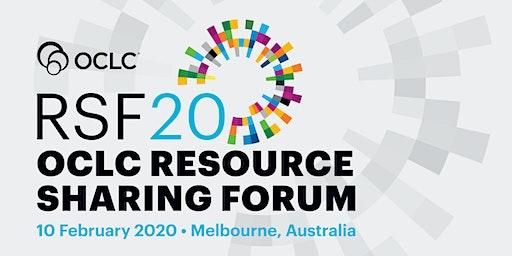 OCLC Resource Sharing Forum 2020 - Melbourne, Australia