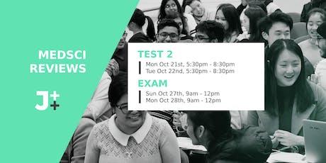 JTT Medsci Exam review tickets