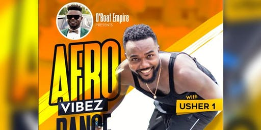 AFRO VIBEZ DANCE WORKSHOP WITH USHER1 Live In Virginia (Woodbridge)