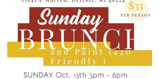 420 Friendly Brunch & Paint