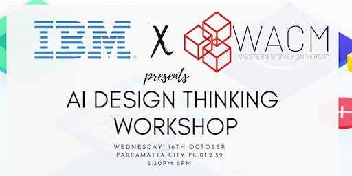 IBM x WACM AI Design Thinking Workshop
