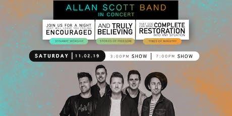 Allan Scott Band in Concert tickets