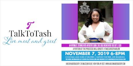 Talk To Tash Live Meet & Greet tickets