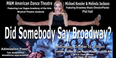 Did Somebody Say Broadway? tickets