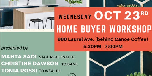 FREE Home Buyer Seminar | October 23rd