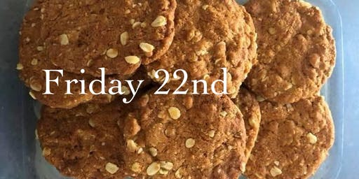 Tasting History: Anzac biscuit baking at Cementa 2019 Friday 22nd