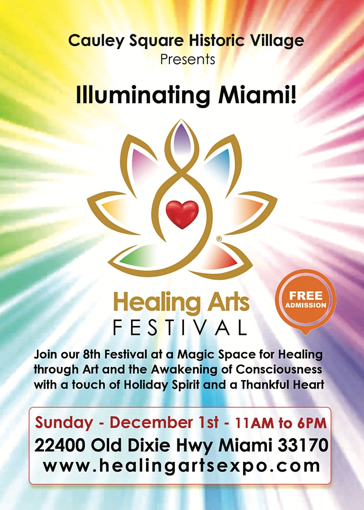 Vendors and Sponsors of Healing Arts Festival at Cauley Square! image