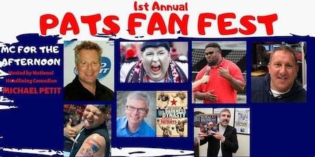 Pats Fan Fest tickets