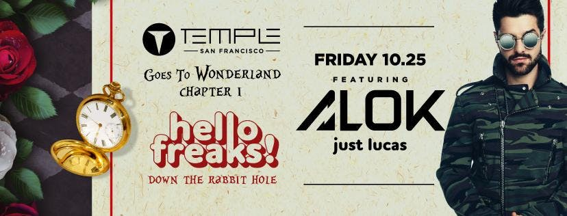 Temple Goes to Wonderland feat ALOK