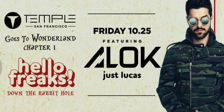 Temple Goes to Wonderland feat ALOK tickets