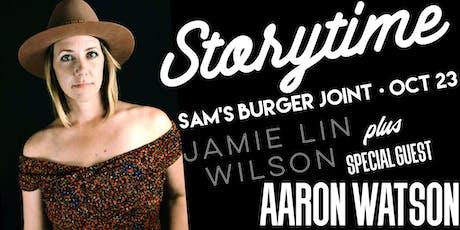 Jamie Lin Wilson's Storytime with Aaron Watson