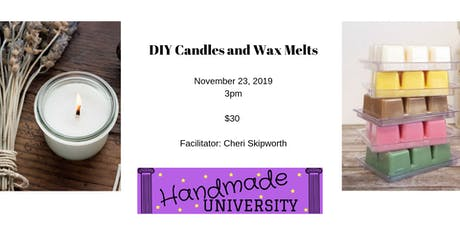 DIY Coconut Soy Candles & Wax Melts tickets