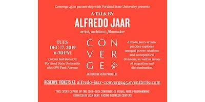Alfredo Jaar Artist Talk
