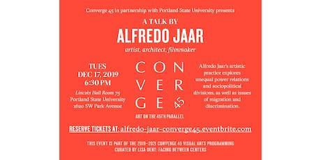 Alfredo Jaar Artist Talk tickets