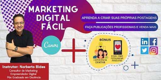 Curso Marketing Digital Fácil | Aprenda a criar suas postagens e venda mais