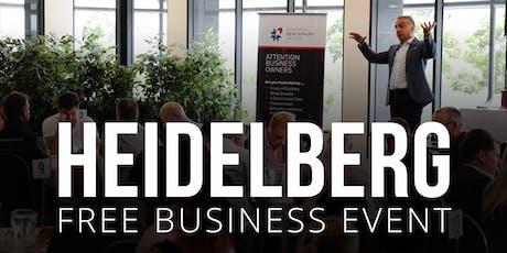 HEIDELBERG Free Business Builders Event tickets