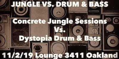SoundClash Battle. Concrete Jungle Sessions vs. Dystopia D&B