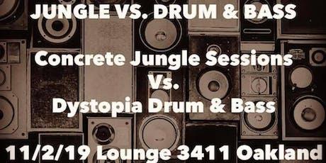 SoundClash Battle. Concrete Jungle Sessions vs. Dystopia D&B tickets