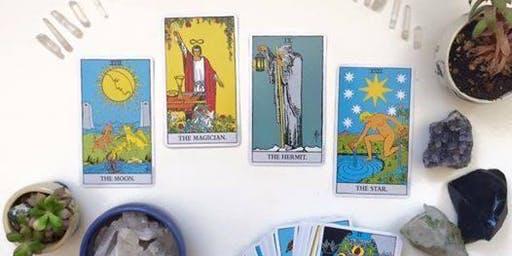 Drop-in Tarot readings with Hazel at Seagrape