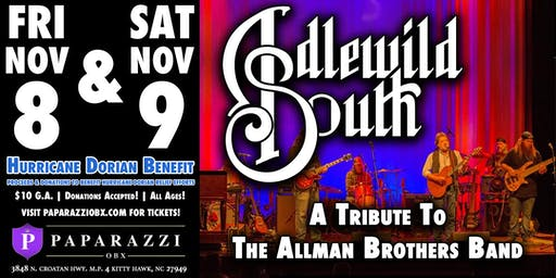 ALLMAN BROTHERS TRIBUTE - Idlewild South LIVE! Hurricane Dorian Benefit